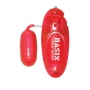 Basix Rubber Works Jelly Egg Red