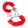 Beginners Furry Cuffs Red