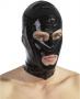 Black latex hood