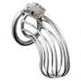 Chastity With Padlock Metal