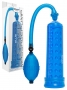 Power Massage Pump with Sleeve Blue