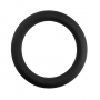 Power Silicone Cockring Black (40/10mm)