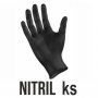 Rukavice NITRIL čierne