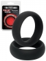 Silicone Donut Cockring Black (40/20mm)